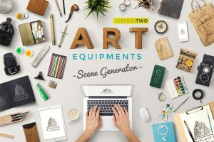 Art Equipments Scene Generator V2 by sandracz