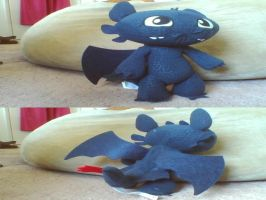 My Talking Toothless(HTTYD) Plush by PokeLoveroftheWorld