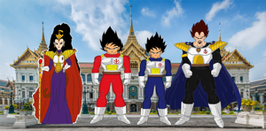 Prince of Vegeta-sei: Royal Family by HalfSaiyanHeart