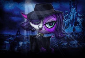the Phantom of the Littlest Opera by MetaDragonArt