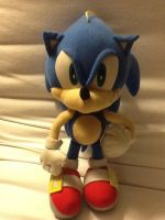 Sonic X Sonic toy by HispanicOrca