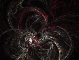 very first fractal art... by Dhanyelle