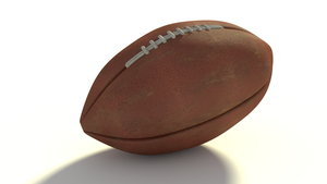 3D Football model by finsends
