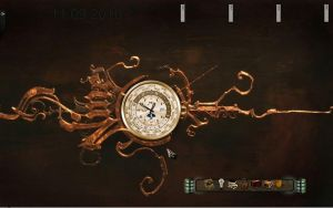 antique steampunk clock by KOTPA