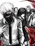 Tokyo Ghoul by kyocs