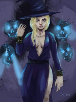 WIP 17 Witch 2 by Postic