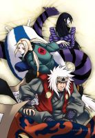 Naruto: The Legendary Sannin by l-s