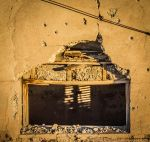 Bullet holes above the basement by Morgan-McJiggleson