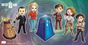 Dr Who Chibi's by argibi