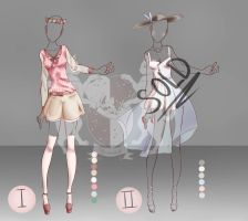 [OPEN 1/2] Queen Catsual Outfit Auction No.2 by Yinxabell