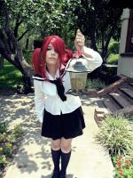 Redhead Schoolgirl Cosplay by Nao-Dignity