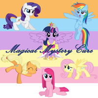 Magical Mystery Cure Album Cover by PrincessMedley13