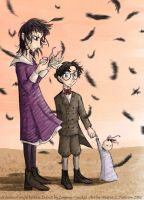The Beleaguered Baudelaires by andrael