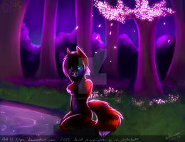 Pink Moonlight by chillis-art