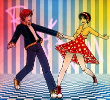 Dancing Couple 3 - Rock n Roll by Mila-Valentine