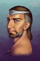 Saruke--Official Portrait by Dorothy-T-Rose