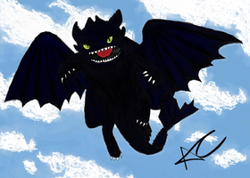 Toothless by Someguyfromcrowd