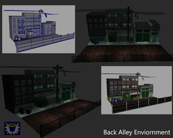 Back Alley Enviornment by BlueSerenity