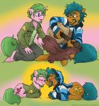 While My Guitar Gently Neighs (OC's) by MustLoveFrogs