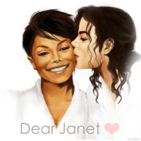 Michael and Janet by miyanushi