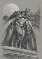 Batman-sketch3 by StazJohnson