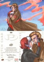 Rogue and Gambit Romance by CapnFlynn