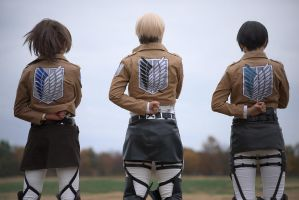 Attack on Titan by aoi-takamura