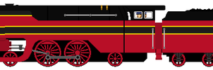 Axel the SNCB Type 12 Engine by JamesFan1991