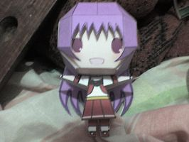 Athena Asamiya KOF 97 papercraft by daigospencer