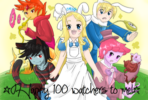 Adventure Time Wonderland Invasion (100 watches) by knightaur