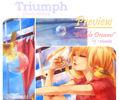 Triumph Artbook Preview by rivaste