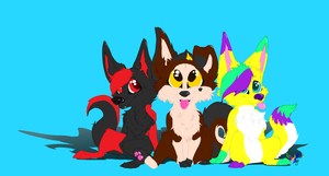 Commission 1- The group by IcefurTheArtiste