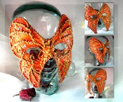 Phoenix Monarch Mask by thedustyphoenix