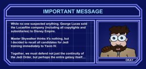 Important message from Master Katarn by Icewalkerman