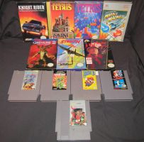 NES Game Colletion by Malidicus