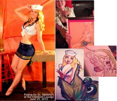 Dr. Sketchy's by AlisaKiss