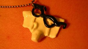 Rocky Horror Brad necklace by missfit1023