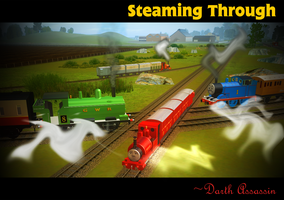 Steaming Through by DarthAssassin