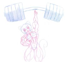 commicion kali69 - lifting weights by Siegfried129