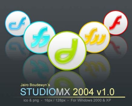 Macromedia Studio MX2004 v1 by weboso