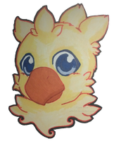 Chocobo Portrait by Ailin34