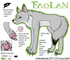 Faolan character page by Makutasiaa