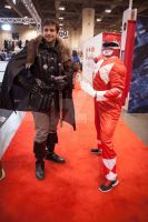 Robb Stark and the Red Ranger by QueenSheba24