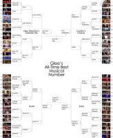 Glee Song Bracket by mellosky
