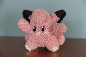 #035 clefairy by pokecrochetchallenge
