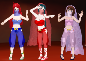 NTR48 girls belly dancers by quamp