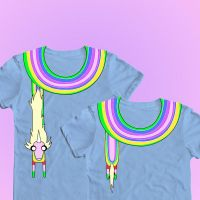 WeLoveFine Rainicorn Shirt Contest Submission by ichigomomo