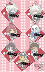Keychains Chibi Previews by Kell0x
