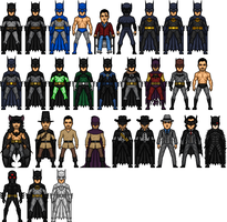 DCU Bruce Wayne Evolution by dannysmicros