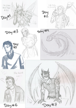 Daily Doodle Challenge by Laoness